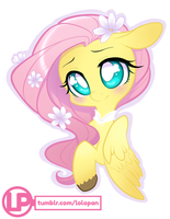 Flutter sticker by MonstreNoir