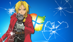 Edward Elric Wallpaper by anime-manga-freak1