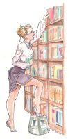 The Librarian by normandapito
