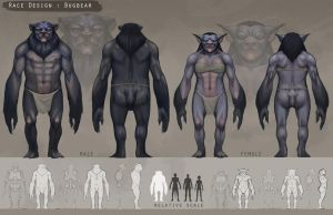 Race Orthos - Bugbear by SnakeToast