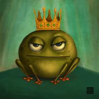 The Frog Prince by hasandurukan