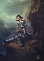 Tomb Raider (2013) by keithrowe