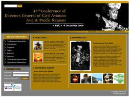 43rd DGCA Website by astayoga