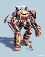 'Schlitzie' The Giant Carnival Mech... of DOOM by AOPaul
