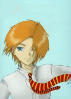 Fred Weasley by hpartist