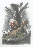 DEAD TREE ZOMBIE by leagueof1