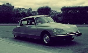 Citroen DS by Dankan