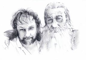 Magic Makers of Middle-Earth by phantomphreaq