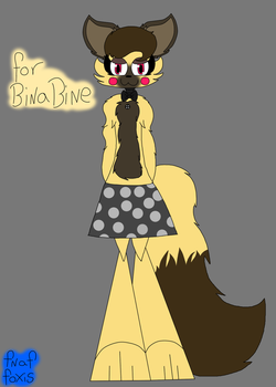 For Binabine ( Gift ) by fnaffoxis2