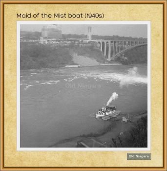 Maid of the Mist boat (1940s) by Niagara14301
