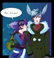 But I love you - coloured by Kimmiko