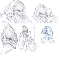 ME sketches by Amarick