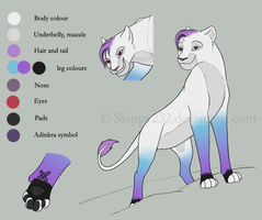 Kosa - Ref sheet by MitheaLaval