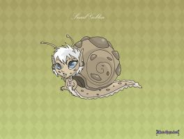 [Closed] Hatched snail goblin adoptable by MySweetQueen