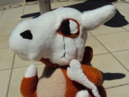 Cubone Face Close Up by ThisUsernameFails