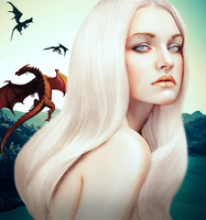 Mother of dragons by Core-BloodDrinker