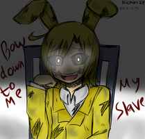 [FNAF4 New Teaser] Himedere Shota PlushTrap by nichandesu