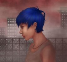 tired city by RaynaCendre