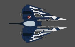 Personal Jedi Starfighter v2 by Souljacker777