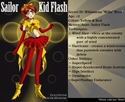 +Young Justice Scouts+ Sailor Kid Flash by phoenixtsukino