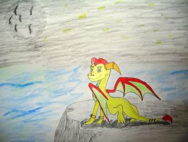 Thun the Dragon by Ziegthefox2223