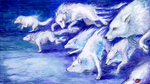 Snow Wolves. by Aisha-Autumn