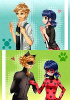 Miraculous Ladybug: Relationships by Torikii