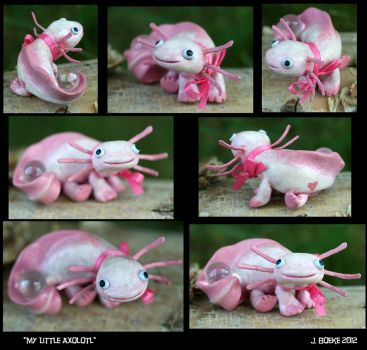 My Little Axolotl by CatharsisJB