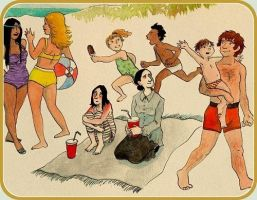 Severus' Summer Holiday by gerre