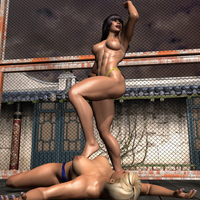 05 Amika vs Chanel Second Fight 320 by CalvadosJapan