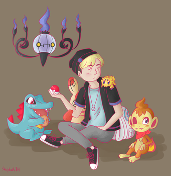 Pokemon Trainer by abandonedshipbells
