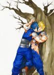 Zack and Cloud colored by chipuchipu
