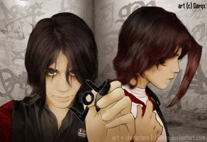 Would the real Izm and A.E.D by Darqx