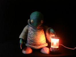 FFX-2 Tonberry Lamp by fezco