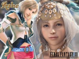 FFXII Ashe Wallpaper by Nightwulff