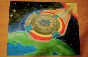 Electric Light Orchestra drawing (full drawing) by MNgreen
