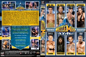 WWE WrestleMania 29 DVD Cover V3 by Chirantha