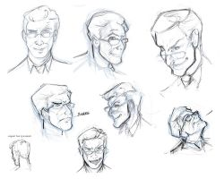 Stephen Colbert sketchness by artobot