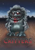 Critters movie poster by NDHutchison