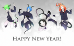 New Year 2015 by Kryhelis