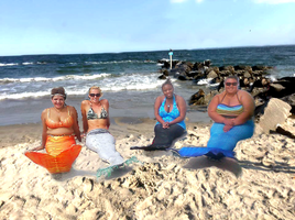 Mermaids We come in all Shapes Size and Colors by cookiebaby722