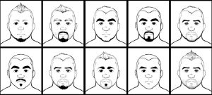 Composition 10 Faces by KevAegis