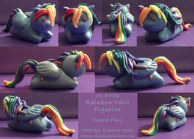 MLP Figurine: Rainbow Dash (Luminescent) by EleanoraHoshi