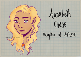 Annabeth Chase by renesmeecullen51