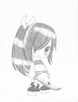 Erza Scarlet - Because I am CUTE! by KurohikoKazuha