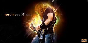 Dave Mustaine by AknotK