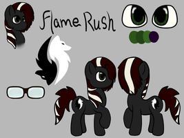 Flame Rush Reference by PonyOkami