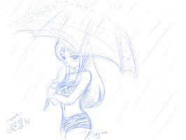 lum in the rain by x-SAgi-x