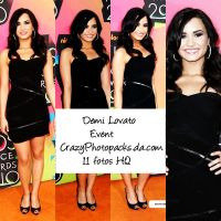 Demi Lovato Event by CrazyPhotopacks