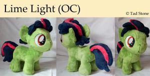 Lime Light (OC) - Plush by TadStone